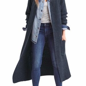 "Gap Wool Blend Maxi Knit Cardigan ""The Hipster"""